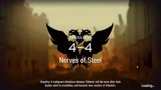 Projekt Red  - (Arknights) - Arknights 4-4 Nerve of Steel (Projekt Red only)