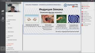 Обучение Гипнозу: Индукция Элмана. Online тренинг Гипноз и Психосоматика 2018