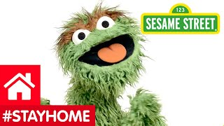 Sesame Street - Oscar The Grouch Says #StayHome