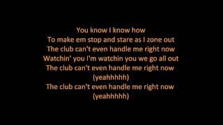 Flo Rida - Club Can't Handle Me (feat. David Guetta) (ON SCREEN LYRICS)