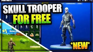 Free SKULL TROOPER SKIN in Fortnite [BaFreeNews]