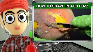 How to Shave Peach Fuzz with a Straight Edge Blade | Runforthecube Tutorial