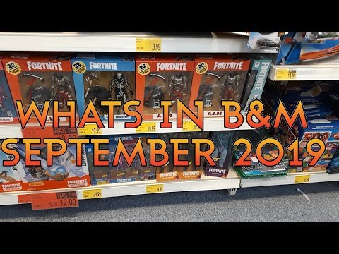 Toy Hunt - Whats In B&M September 2019 - New Doctor Who, Harry Potter, Fortnite, WWE, Funko & More!!