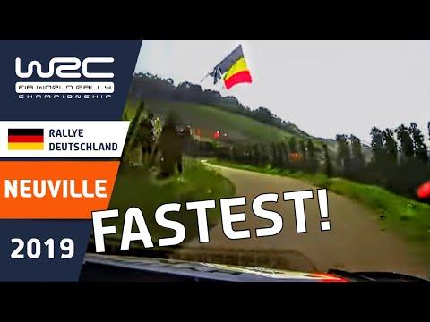 WRC - ADAC Rallye Deutschland 2019: ONBOARD Neuville SS2