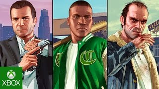 GTA 5 Xbox One - Mídia Digital