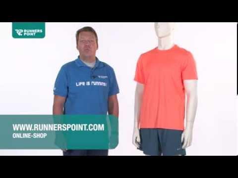 Herren Laufbekleidung Nike Challenger Laufshirt