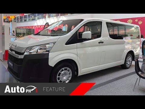 Download 2019 Toyota HiAce Commuter Deluxe - Exterior & Interior Feature (Philippines) HD Mp4 3GP Video and MP3