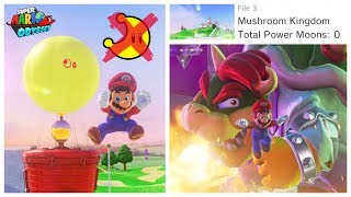 ALL Cascade Kingdom Glitches | Super Mario Odyssey - Thủ