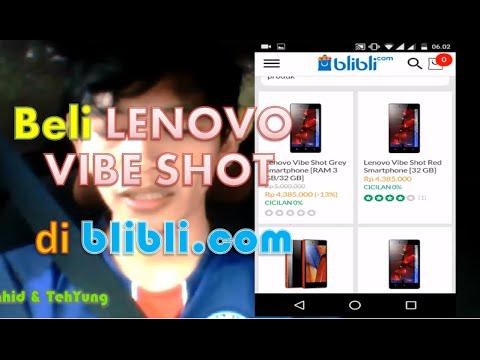 Video Cara Belanja Online HP vibe shot di blibli.com dengan Kartu Kredit Full Payment