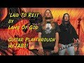 'Laid To Rest' by Lamb Of God - Guitar Playthrough w/tabs Chris Zoupa