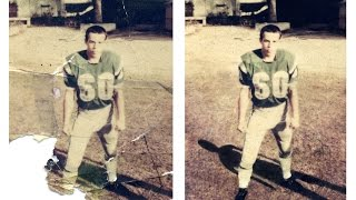 Old Damaged Photograph Restoration in Photoshop CC - The Football Player