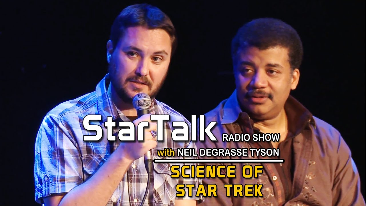 Wil Wheaton And Neil DeGrasse Tyson Chat About The Science Of Star Trek
