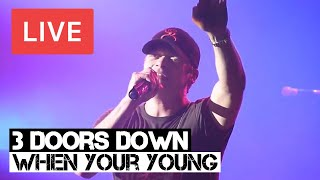 3 Doors Down - When You're Young Live in [HD] @ Hammersmith, London 2012