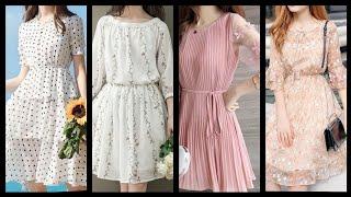 Outstanding Floral Print Middi Dresses Ideas/Skater Dresses/flare Dresses For Women