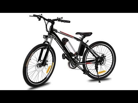 Ancheer 36V 8A 250W 26 Zoll China E-Bike Elektro Fahrrad unter 500 Euro