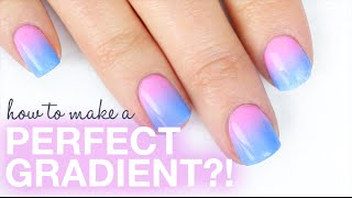 HOW TO DO A PERFECT GRADIENT ON YOUR NAILS!! || KELLI MARISSA