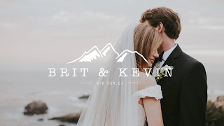 Gorgeous Elopement Wedding Video On Big Sur Point 16 Cliff  -  You Will Cry 100%