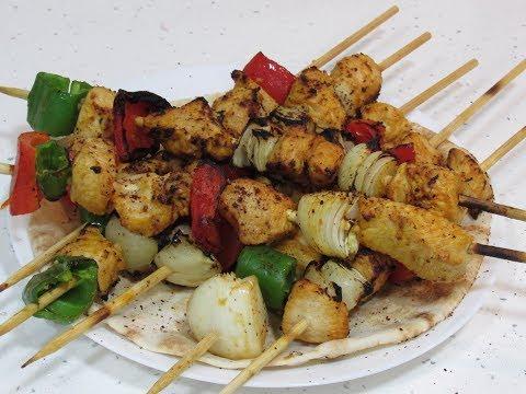 تكة دجاج على الطباخ بطريقة المطاعم بدون فرن وبدون فحم لا تقاوم