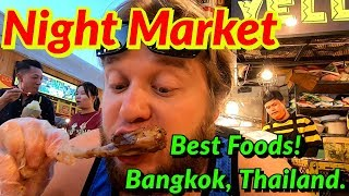 🇹🇭 RATCHADA ROD FAI TRAIN NIGHT MARKET | BANGKOK, THAILAND