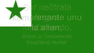 Himno de Esperanto La Espero National Anthem