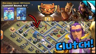 *CWL: Champs I* Clutch Warden! Electrone 12v12 & 11v11 | Clash of Clans