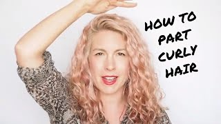 How To Part Curly Hair - Hair Romance Good Hair Q&A #13