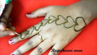 Valentines Day Special Mehndi Designs Videos