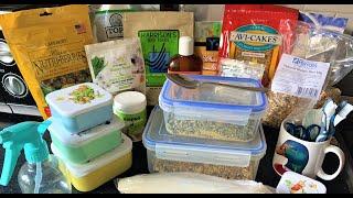 Whats In Our Bird Supplies Cupboard? | BirdNerdSophie