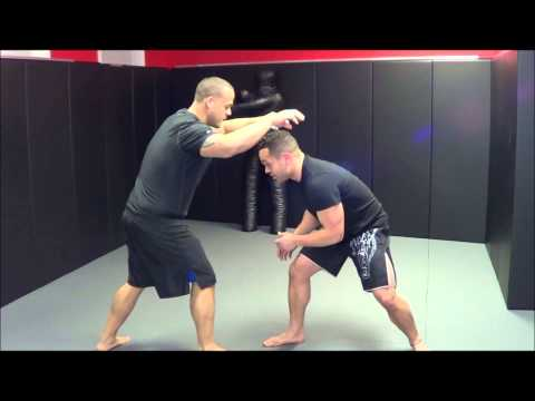 MMA Training: Double Leg Takedown