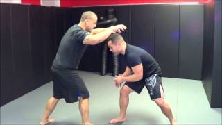 MMA Training: Double Leg Takedown
