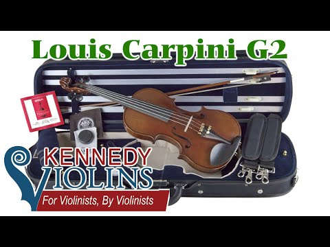 Kennedy Violin Louis Carpini G2 4/4 Review