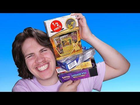 Opening 6 Bargain Bin Pokemon Card Boxes