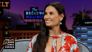 Demi Moore Started Driving Very, Very Young