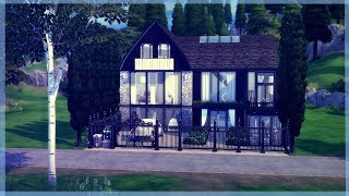 The Sims 4 House Build | Large Modern Family House | The Winchester