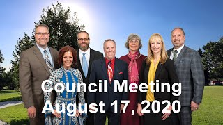 Preview image of City Council Meeting -  August 17, 2020