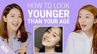 Korean Beauty Who Looks 30 Years Younger Reveals Secrets for Baby Skin! | Wish, Try, Love