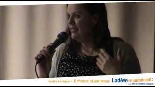 preview picture of video 'Au service de la petite enfance et de la jeunesse : Lodève en Mouvement avec Gaelle Leveque'