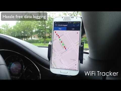 Video of WiFi Tracker