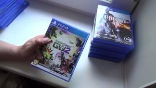 Консоль - Playstation 4. Чего накопилось за все время