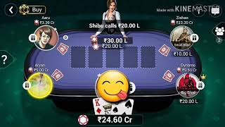 No one can beat me in poker iam back Teen Patt gold 100% working
