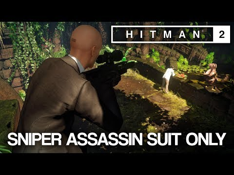HITMAN™ 2 Master Difficulty - Sniper Assassin, Santa Fortuna, Colombia (Silent Assassin Suit Only)