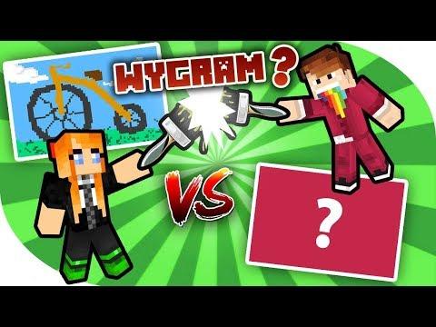 WYGRAM Z CZOKLETEM...?! | Minecraft Pixel Painters (feat. Czoklet!)