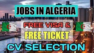 Free Jobs In Algeria 2020 ¦¦ Salary In US $ Dollar ¦¦ Gulf Job Solutions