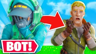 How I became the biggest bot in fortnite...