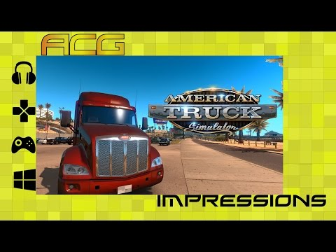 American Truck Simulator Impressions/Preview/Review - YouTube video thumbnail