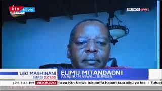 Waziri Magoha ajibu maswali Bungeni kuhusu elimu mitandaoni