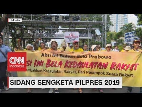 Aksi di Sidang Sengketa Pilpres 2019