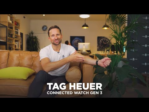 The 2020 TAG Heuer Connected Watch Generation Three is a Marriage of Switzerland and Silicon Valley