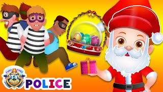 ChuChu TV Police Christmas Episode - Saving The Christmas Gifts from Thieves - ChuChu TV Surprise