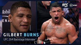 Gilbert Burns on bouncing back and facing Leon Edwards after Wonderboy win at UFC 264